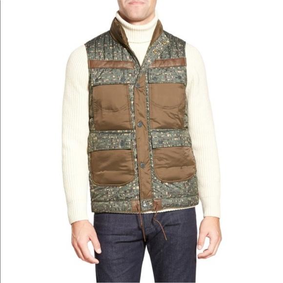 Barbour Other - Barbour Edenkawa Colorblock Quilted Vest Olive L